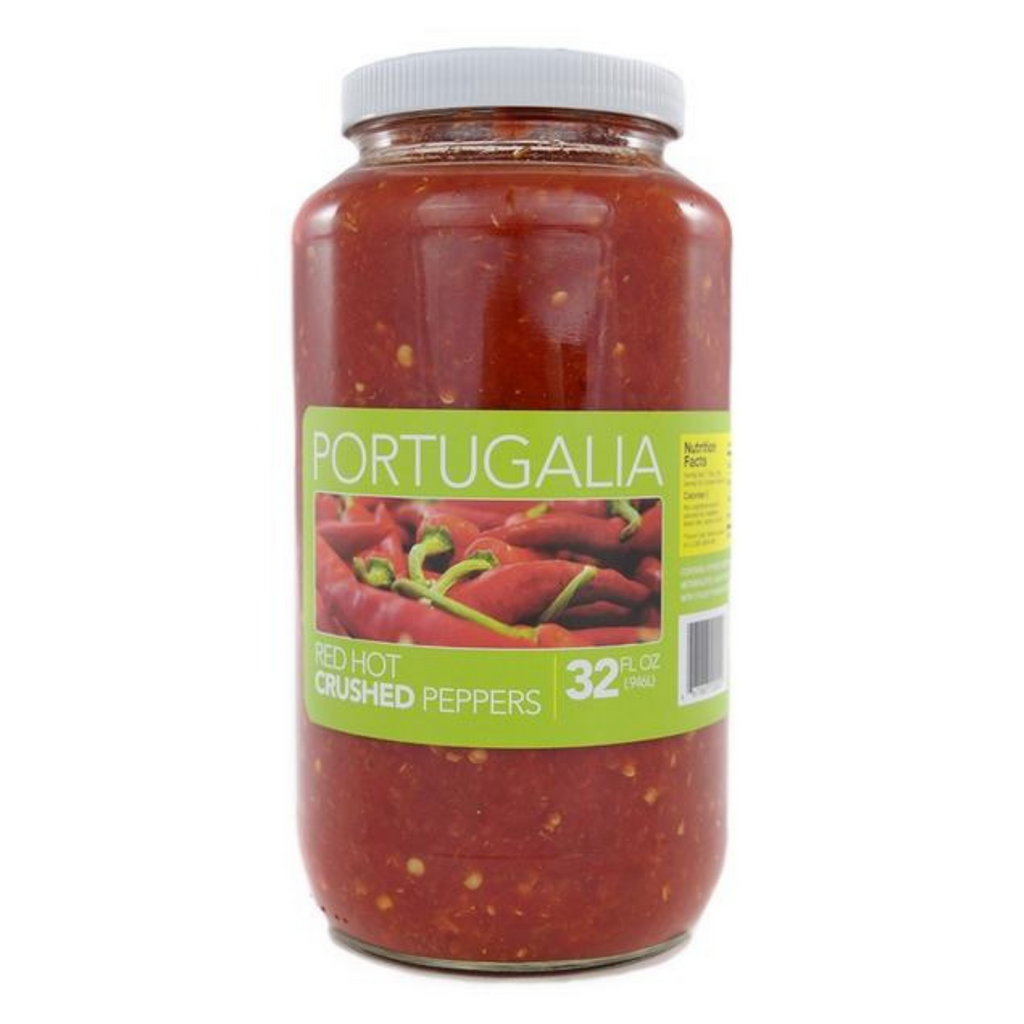 Portugalia  Red Hot Crushed Peppers - 32 Ounce