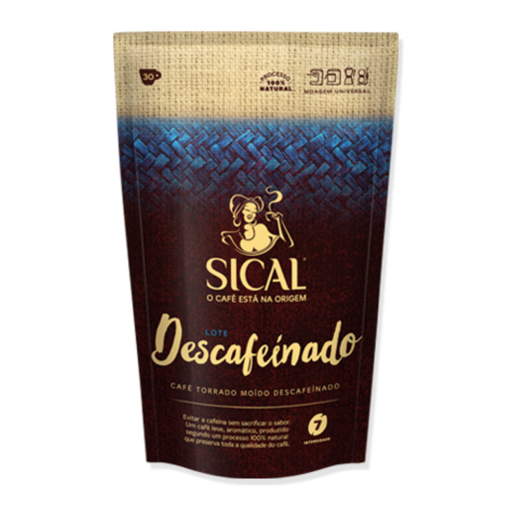 Sical  Decaffeinated Ground Portuguese Espresso
