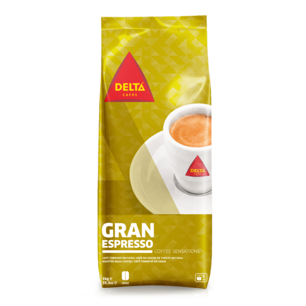 Delta Cafés  Gran Roasted Whole Bean Espresso
