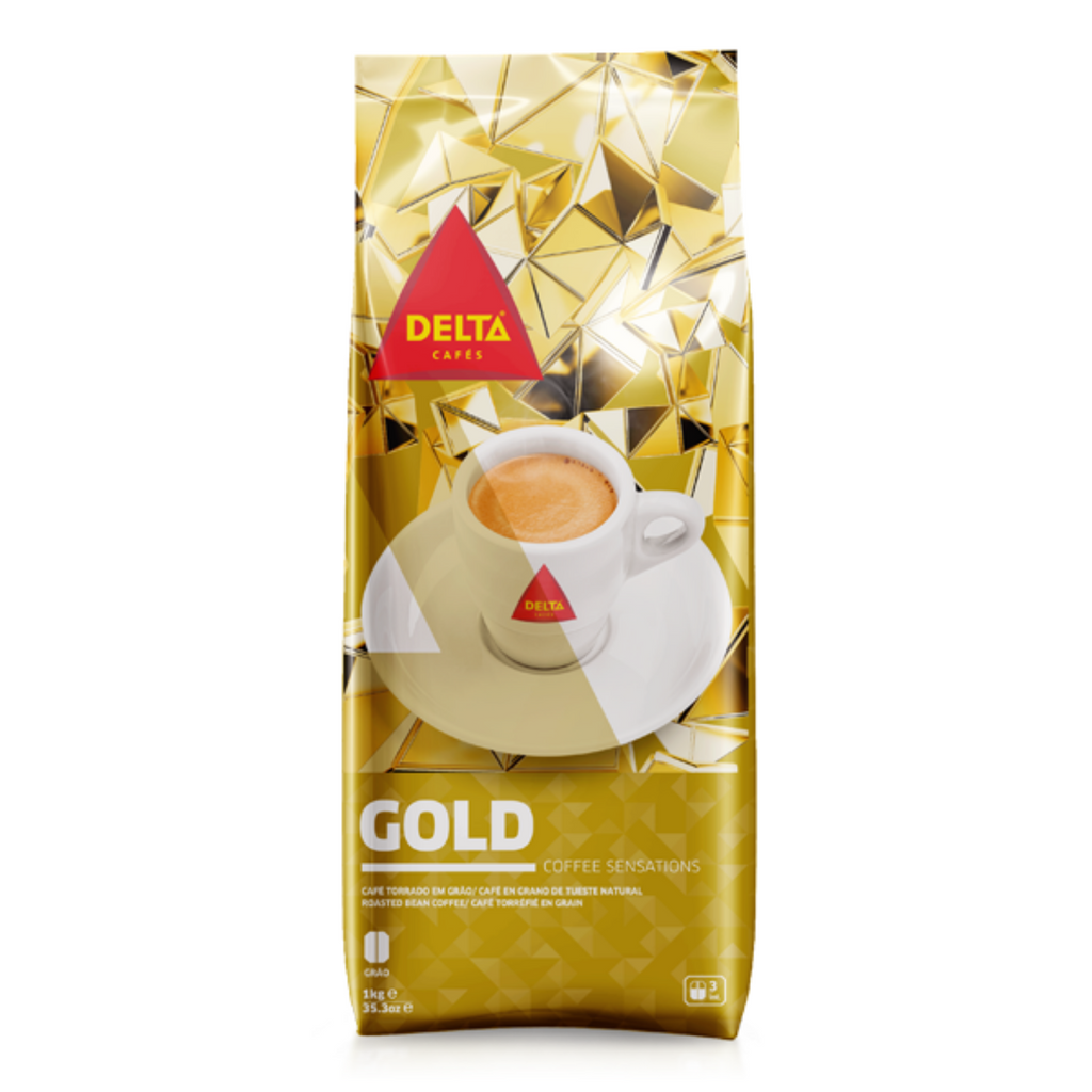 Delta Cafés  Gold Roasted Whole Bean Espresso