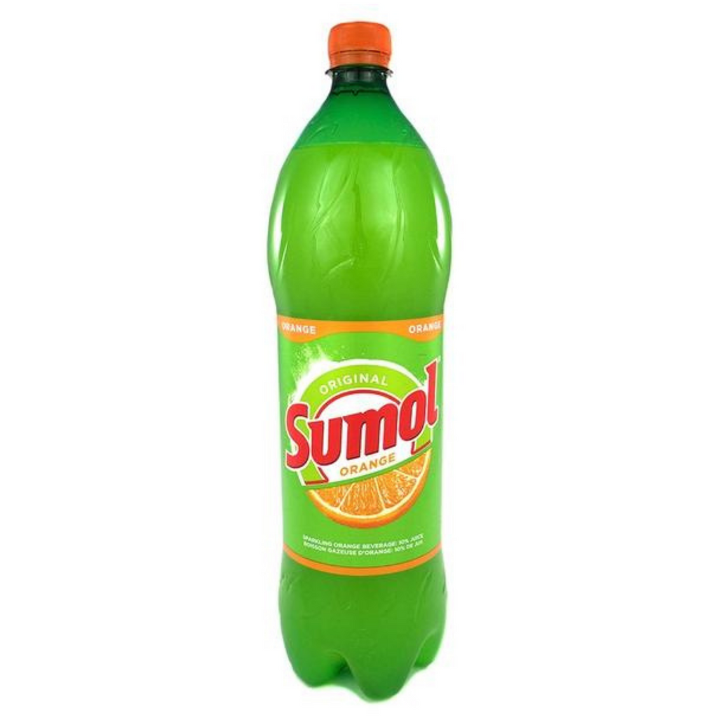 Sumol Orange Bottle