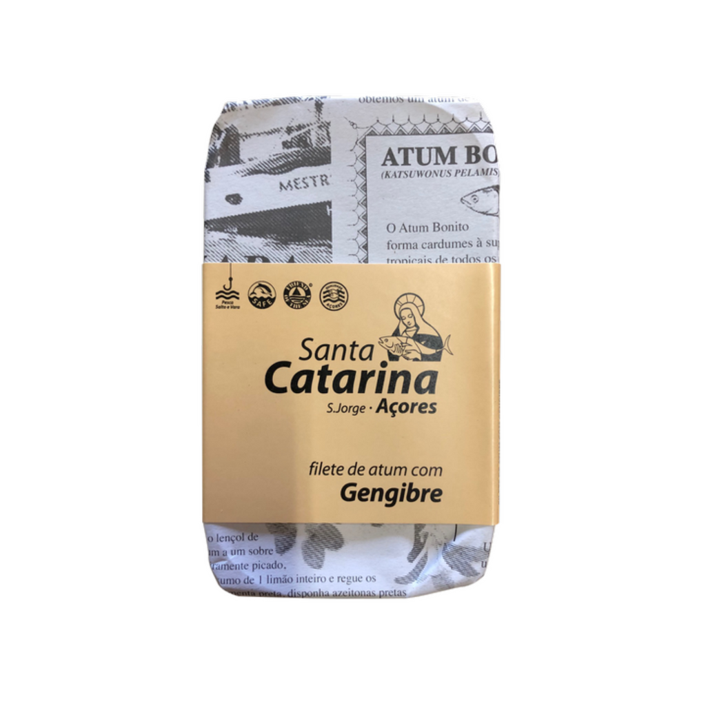 Santa Catarina Gourmet Tuna Fillets with Ginger and Olive Oil