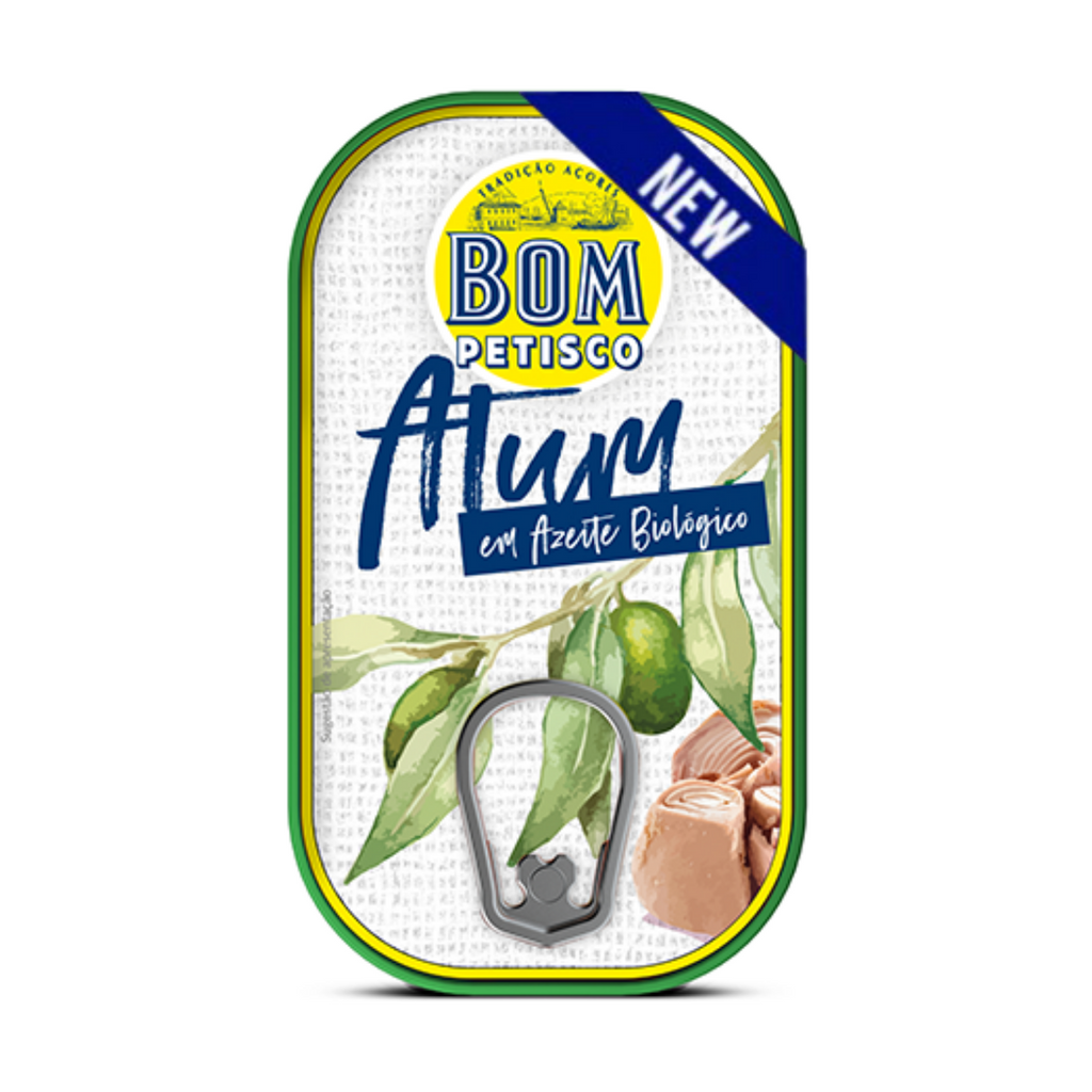 Bom Petisco Solid Tuna in Organic Extra Virgin Olive oil