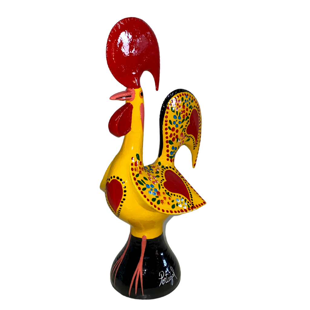12 inches Galo Barcelos Hand-crafted Metal Rooster.