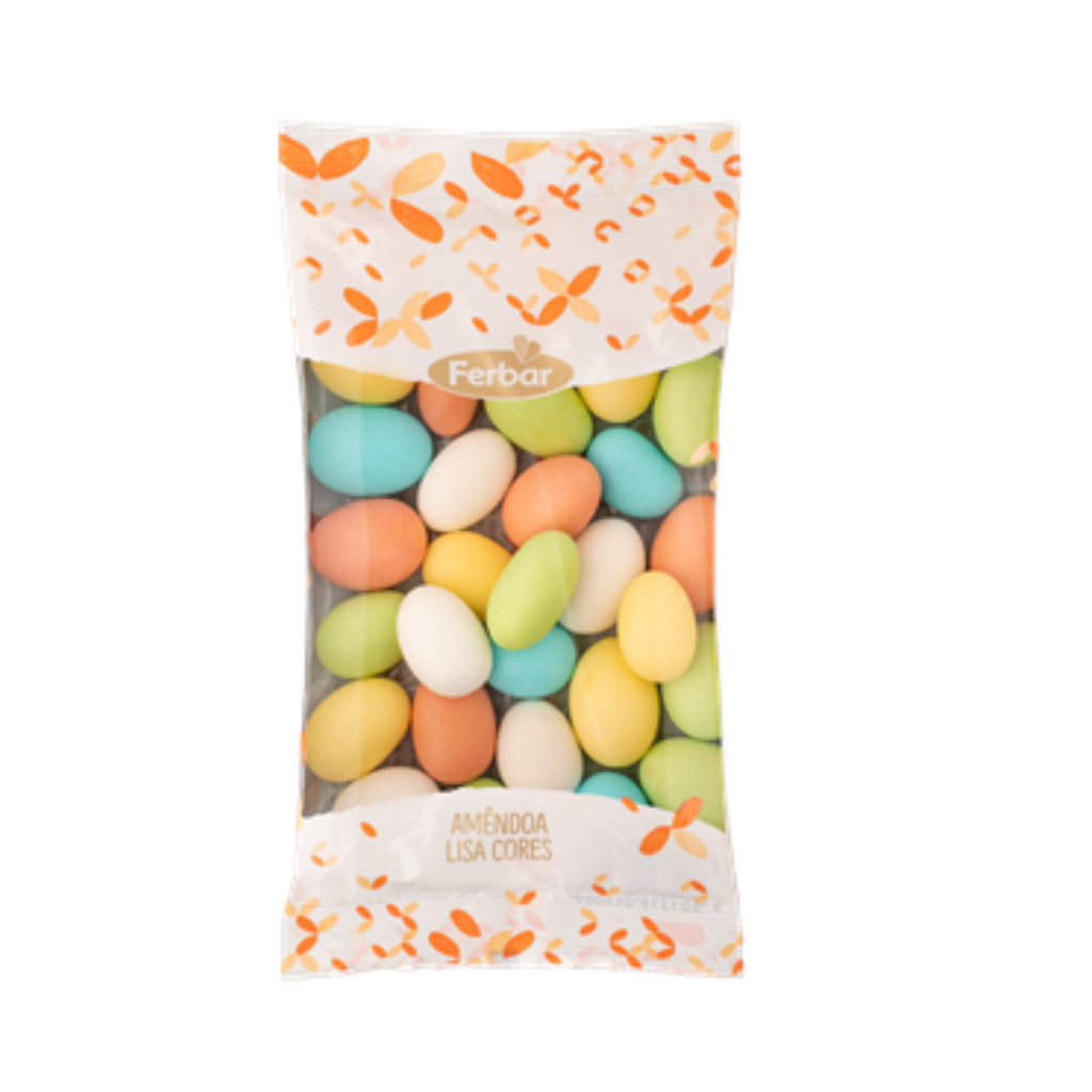 Candy Coated Almonds Lisa cores