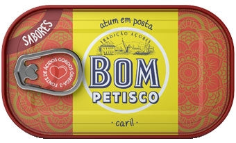 Bom Petisco Solid Tuna In Olive Oil and Curry