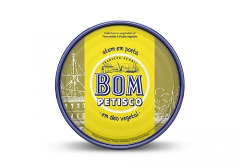 Bom Petisco Solid Tuna in Vegetable Oil