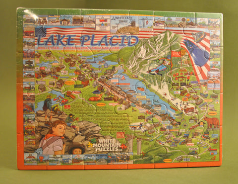 Lake Placid Postcard Puzzle