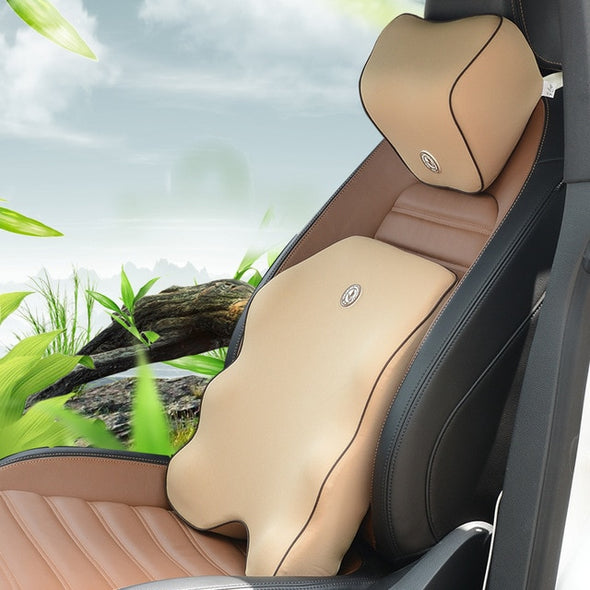 Lumbar Support Back Pain 3D Mesh Car Pillow