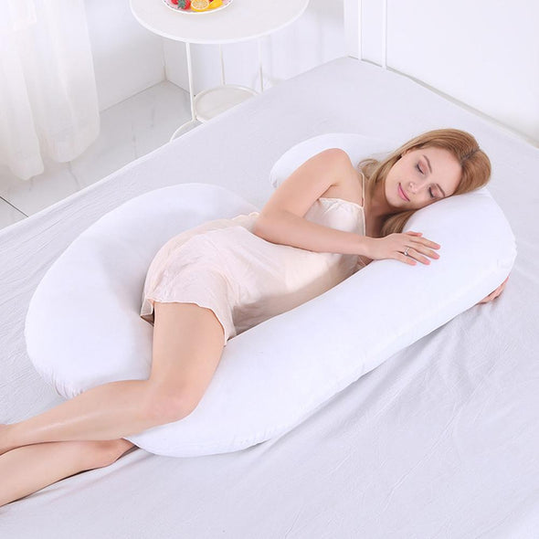 Oblong Shape Maternity Cozy Bump Pregnancy Pillow
