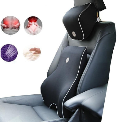 Car Back & Neck Auto Lumbar Cushion