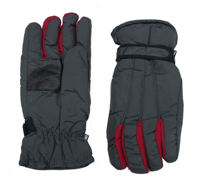 Romano Men's Black Snow-Proof Warm Winter Protective Gloves(Colour may vary) romanonx.com