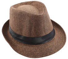 Load image into Gallery viewer, Romano Men's Hat romanonx.com Brown Free Size