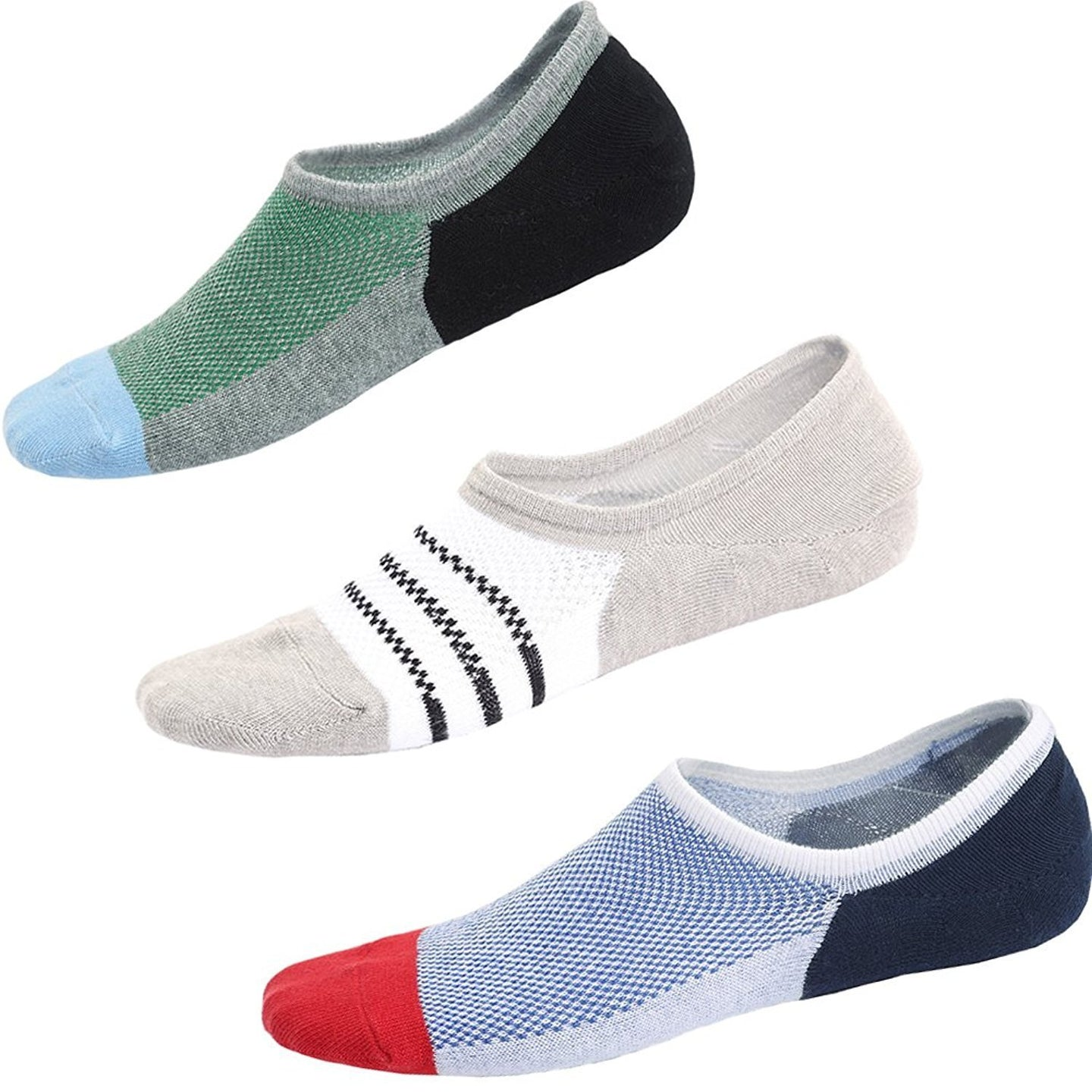 Romano Men's Premium Mercerised Cotton Loafer Socks - Pack of 3 romanonx.com