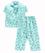 Load image into Gallery viewer, Romano nx 100% Cotton Girls Night Suit romanonx.com