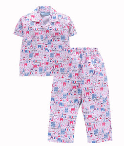 Romano nx 100% Cotton Girls Night Suit romanonx.com