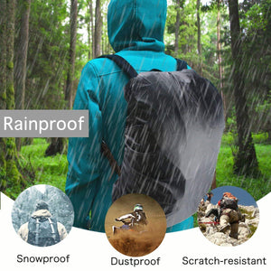 Romano nx 50 Ltrs Waterproof Rain Cover for Backpack and Bags With Pouch Protects from Rain Mud Dirt romanonx.com