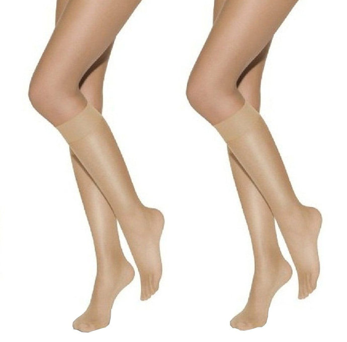 Romano nx Best Quality High-Demand Beige Knee High Stocking (2pc Value Pack) romanonx.com
