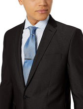 Load image into Gallery viewer, Romano nx Black Formal Suit for Men 2 Button Slim Fit with Unstitched Pant romanonx.com