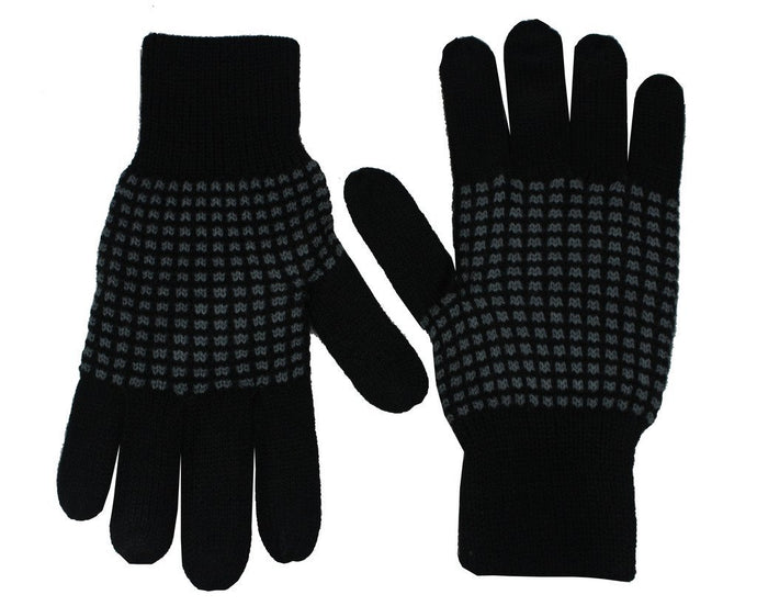 Romano nx Black Warm Winter Wool Hand Gloves romanonx.com
