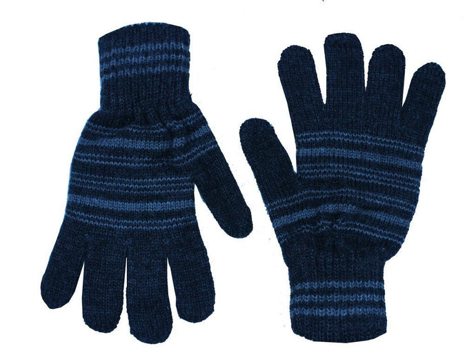 Romano nx Blue Warm Winter Wool Hand Gloves For Boy romanonx.com