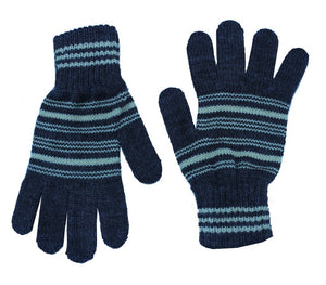Romano nx Blue Warm Winter Wool Hand Gloves For Girl romanonx.com