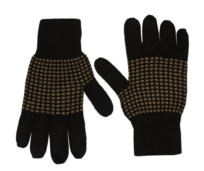 Romano nx Brown Warm Winter Wool Hand Gloves For Women romanonx.com