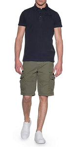 Romano nx Cotton Cargo Shorts for Men- Bermuda with Multi-Pockets & Side Zipper Pockets romanonx.com