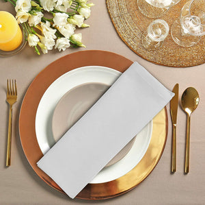 Romano nx Cotton Dinner Napkins White - 6 Pack (20 inches x 20 inches) Soft and Comfortable - Durable Hotel Quality - Ideal for Events and Regular Home Use Home Romano