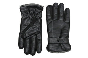 Romano nx Leather Winter Gloves for Men in 7 Colors romanonx.com L F
