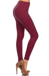 Romano nx Leggings for Womens in 28 Colors Apparel Romano Burgundy 3XL