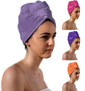 Romano nx Luxury Drying Turban Hair Wrap in 6 Colors romanonx.com