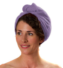 Load image into Gallery viewer, Romano nx Luxury Drying Turban Hair Wrap in 6 Colors romanonx.com Lavender