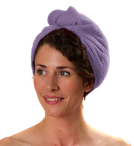 Romano nx Luxury Drying Turban Hair Wrap in 6 Colors romanonx.com Lavender