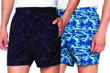 Load image into Gallery viewer, Romano nx Men's 100% Cotton Shorts/Boxers with Side Pockets - Combo (Pack of 2) romanonx.com