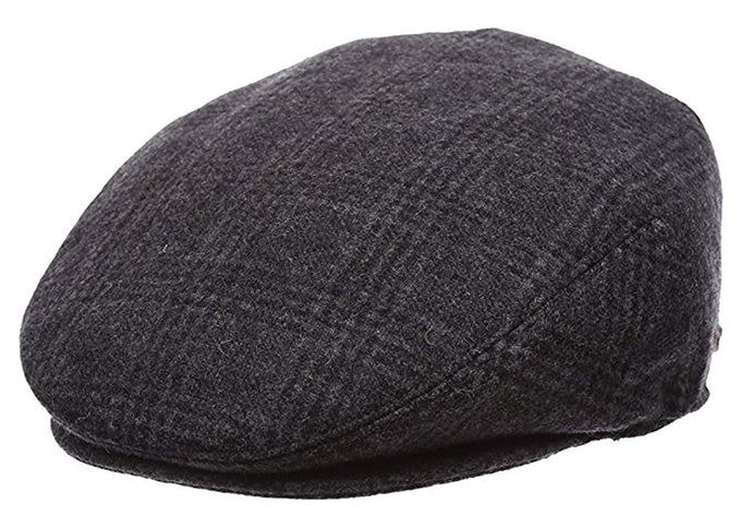 Romano nx Men's Classy Suede Golf Cap in 27 Colors romanonx.com Black