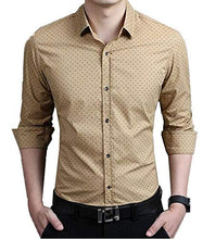 Load image into Gallery viewer, Romano nx Men's Cotton Casual Shirt in 6 Colors romanonx.com Khakhi L
