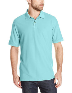 Romano nx Men's Polo T-Shirt with Pocket in 55 Colors Apparel Romano Blue Radiance 3XL