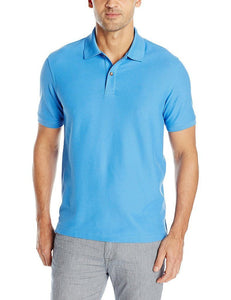 Romano nx Men's Polo T-Shirt with Pocket in 55 Colors Apparel Romano Blue Revival 3XL