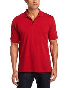 Romano nx Men's Polo T-Shirt with Pocket in 55 Colors Apparel Romano Real Red 3XL