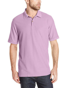 Romano nx Men's Polo T-Shirt with Pocket in 55 Colors Apparel Romano Sheer Lilac 3XL