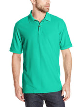 Load image into Gallery viewer, Romano nx Men's Polo T-Shirt with Pocket in 55 Colors Apparel Romano Simply Green 3XL