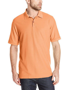 Romano nx Men's Polo T-Shirt with Pocket in 55 Colors Apparel Romano Sour Orange 3XL