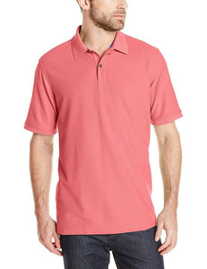 Romano nx Men's Polo T-Shirt with Pocket in 55 Colors Apparel Romano Tea Rose 3XL