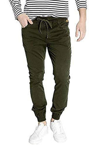Romano nx Men's Slim Fit Joggers romanonx.com Awesome Olive L