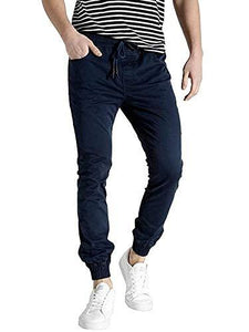 Romano nx Men's Slim Fit Joggers romanonx.com Blue Navy L