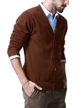 Load image into Gallery viewer, Romano nx Mens Solid Woollen Sweater in 10 Colors romanonx.com