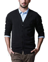 Load image into Gallery viewer, Romano nx Mens Solid Woollen Sweater in 10 Colors romanonx.com Awesome Black L
