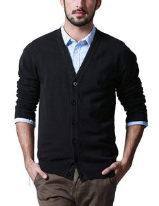 Romano nx Mens Solid Woollen Sweater in 10 Colors romanonx.com Awesome Black L