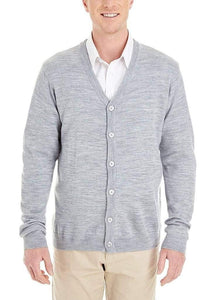 Romano nx Mens Solid Woollen Sweater in 10 Colors romanonx.com Light Grey Heather L